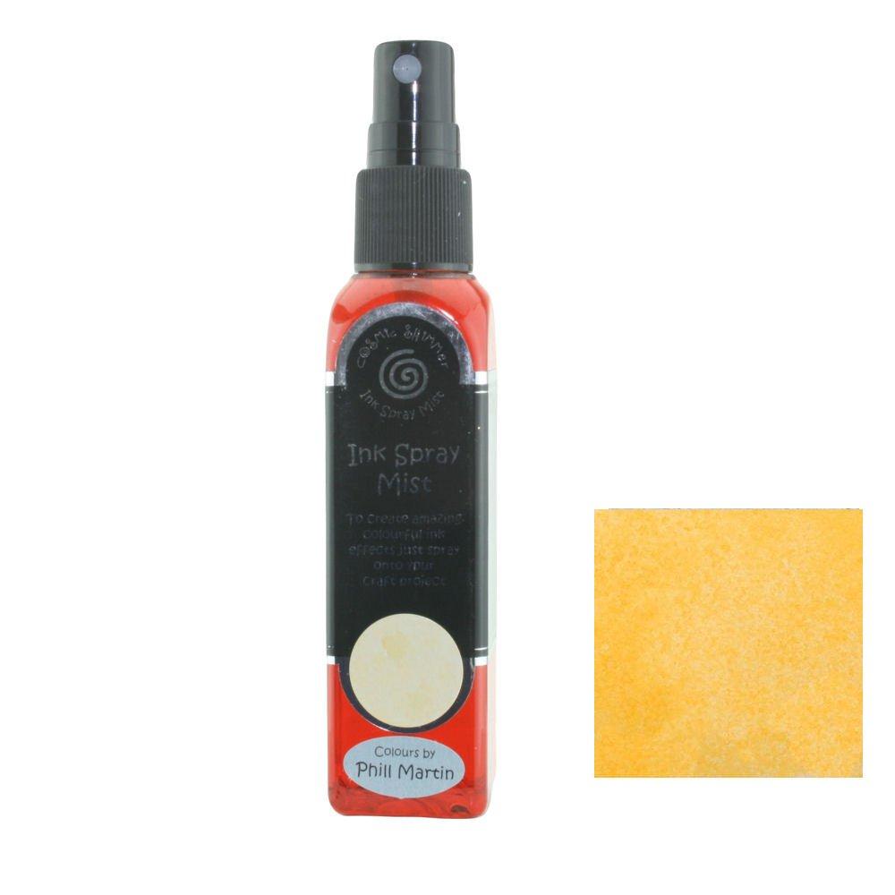 Cosmic Shimmer Ink Spray Mist 50ml - Graceful Mustard