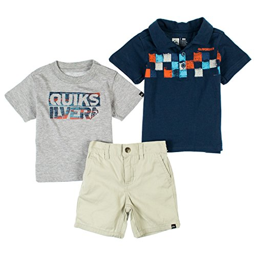 quiksilver-baby-boys-3-piece-short-sleeve-polo-shirt-shorts-set-18-months-dark-denim