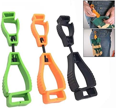 LHKJ 3 Stück Handschuhclip Set,Handschuhhalter Abtrünnigen Handschuh Grabber für Sicherheit Work