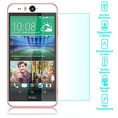 Tempered Glass Clear Screen Protector for Htc Desire Eye - 8