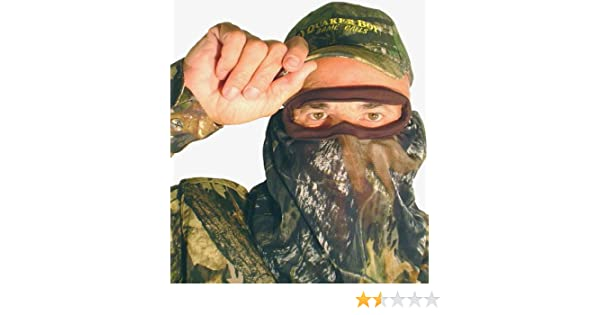 d585ac9912b Amazon.com   Quaker Boy Bandito Elite Hunting Face Mask   Hunting  Camouflage Accessories   Sports   Outdoors