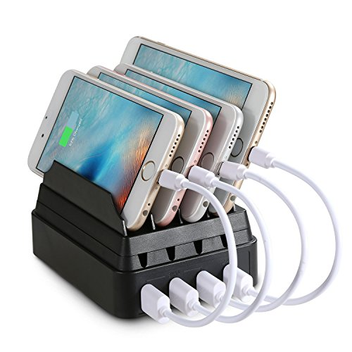 Upow Charging Station Multi Device Organizer