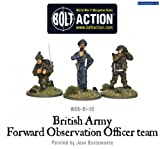 Bolt Action British Army Forward Observer Officers (3 Figures, Wgb-bi-55)