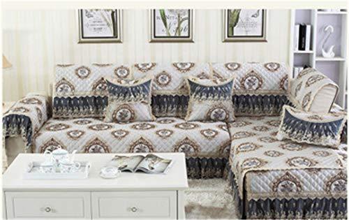 (Ranferuyk Creative Floral Sofa Covers for Sectional Sofa Cover Universal Sofa Cover L-Shape Slipcovers Couch Sofa Furniture Protectors Dec A 90x90cm)