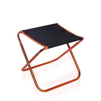 ROOKLY Mini Portable Pliant Tabouret En Plein Air Chaise Pliante Slacker Pour BBQ Camping Pche