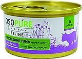 Artemis Osopure Grain Free Feline Formula Canned Cat Food - Tuna, Case of 24 Cans