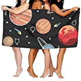 2018 pants Planets Solar System Print Sports Beach Towels