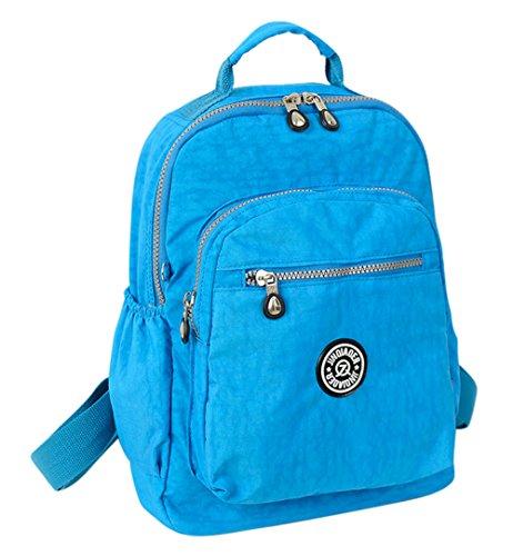 Nylon Backpack Handbag - 5