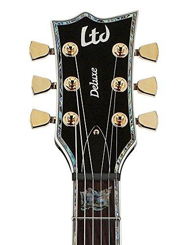 ESP LTD Deluxe EC1000 Electric Guitar - (Black, EMG Active 81/60 ...
