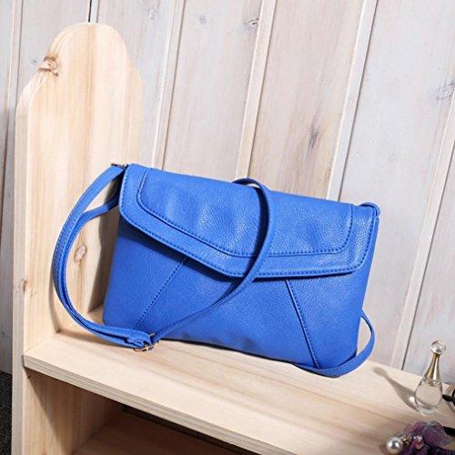 Piel De Mano Bandolera Marron Niñas Esailq Baratos Bolsos Azul Mujer Para B Bolso Pequeña wTpfqcyq