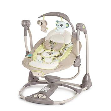GZ Chaise A Bascule Electrique Pour Bebe Un Bras Balancoire
