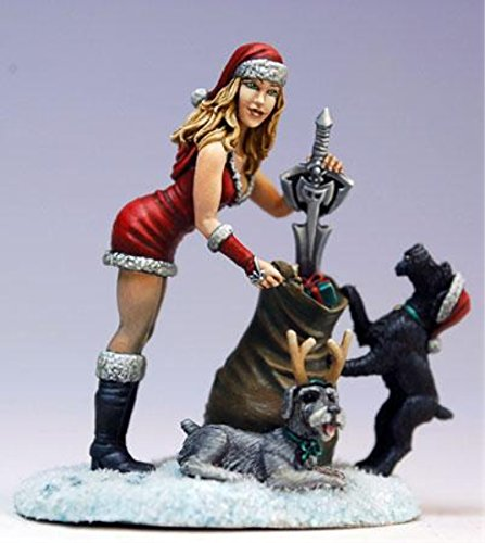 Special Edition Miniature: 2009 Holiday Tribute - Mrs. Claus and Schnauzers -