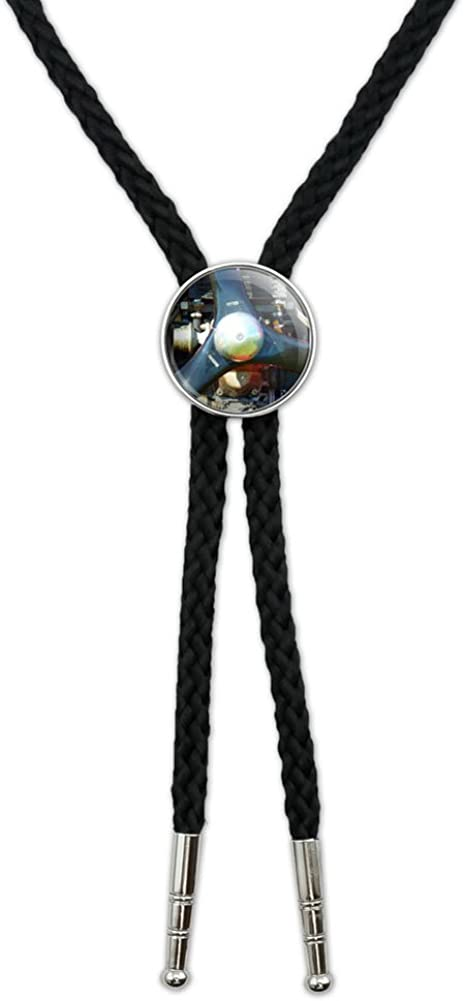 Graphics and More Aircraft Propeller Motor Plane Aviation Western Southwest Cowboy Necktie Bow Bolo Tie