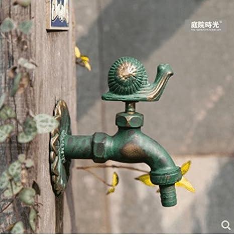 Good quality Grifo Mezclador Lavabo Antiguo Patio Tiempo jardín ...