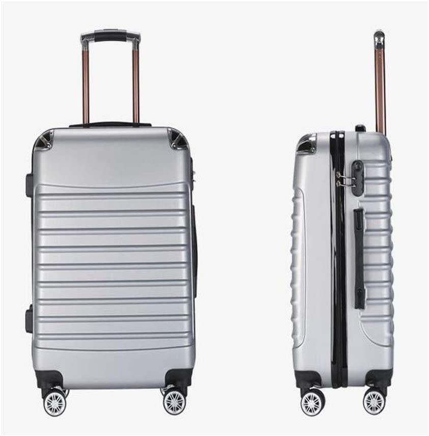 Black 34 24 39 Size cm Color : Sea Blue, Size : 172412inch Keintong Suitcase for Casual Fashion Durable Lightweight Hard Shell Suitcase Color