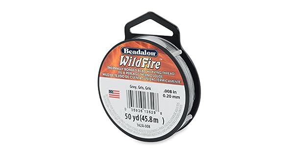Beadalon 1 M 45,8 negro 0,15 mm WildFire abalorios hilo cable