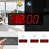 KWANWA Digital Alarm Clock Large Display with