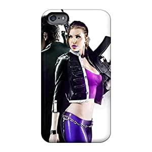Anti-Scratch Hard Cell-phone Cases For Apple Iphone 6s Plus With Support Your Personal Customized Vivid Saints Row 3 Skin Iphonecase88