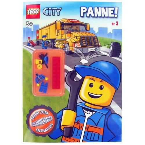 Lego UT21149 - City 3 Beschäftigungsbuch mit Figur