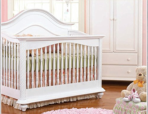 Munire Bristol Crib Full Size Conversion Kit Bed Rails - White