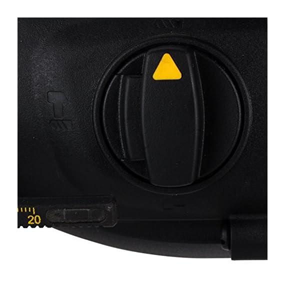 DEWALT D25143K 900Watt 28mm SDS-Plus 3 Mode 2Kg Combi Hammer - 3.0J Impact Energy 2