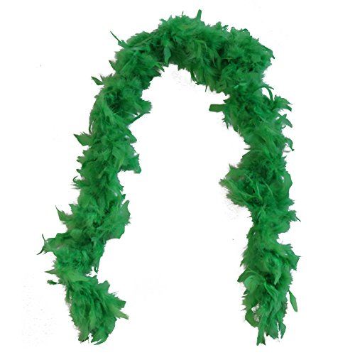 HAYES SPECIALTIES Lime Green Feather Boa]()