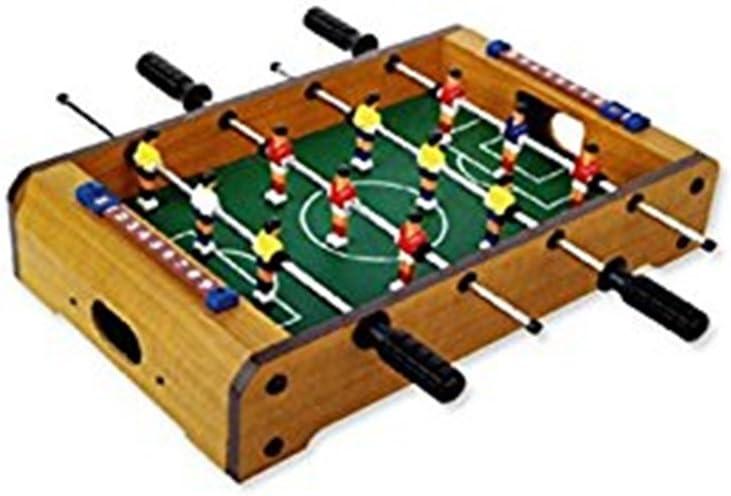 Futbolín de sobremesa de madera. 50 x 30 cm. Dakota. 1 unidad