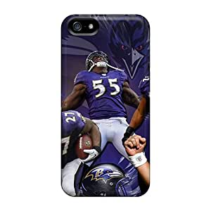 Perfect Fit UWRuT17880CHWsJ Baltimore Ravens Case For Iphone - 5/5s