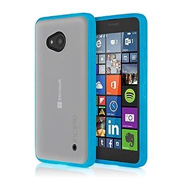 Incipio Octane Funda para teléfono móvil Carcasa rígida Cian - Fundas para teléfonos móviles (Carcasa rígida, Microsoft, Microsoft Lumia 640, Cian)