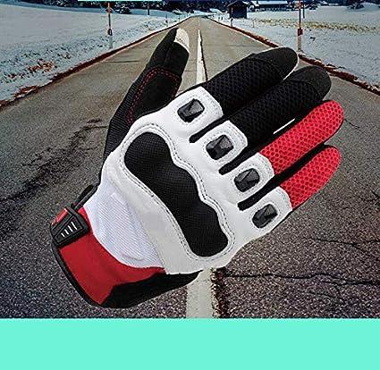 HJSS Gants Moto imperm/éable Chaud Quatre Saisons /Équitation Locomotive Chevalier Anti Automne Cross Country /épais Hommes Touch Gants de Course d/écran