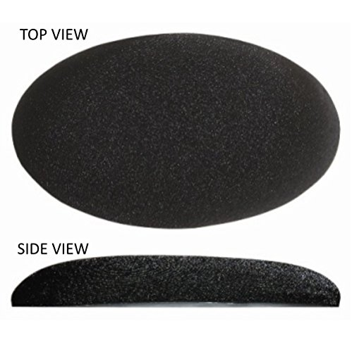 (Medium Elbow / Knee Egg Shaped Stick on Gel Pad - Soften the Hard Spots Quickly)