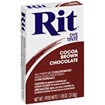 Rit Dye Sewing Powder Cocoa Brown 1.125 Ounces