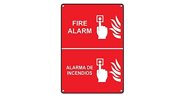 Amazon.com: Weatherproof Plastic Vertical Fire Alarm Alarma ...