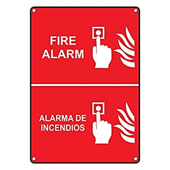 Amazon.com: Weatherproof Plastic Vertical Fire Alarm Alarma ...