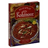 Kohinoor Heat & Eat Curries, Peshawari Dal Makhani, 10.5-Ounce Boxes (Pack of 10)