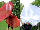 Noel Bundle Worship Flags - Red & White Shimmer, set of 2 pairs by Catch the Fire Worship Flags