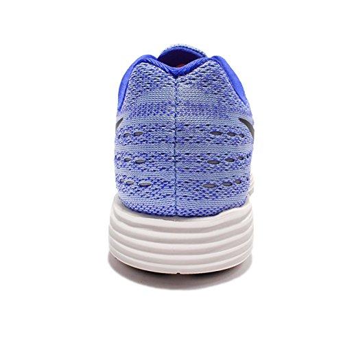 Nike Womens Lunartempo 2 Scarpa Da Corsa In Alluminio Nero Blu 408