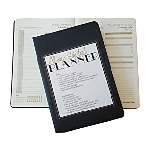 Always Satisfied Daily Planner (A5) (Black)