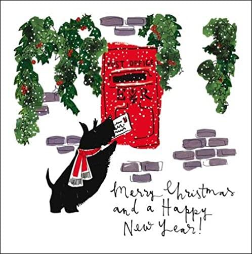 Pack of 5 Christmas Post Princes Trust Charity Christmas Cards Card Packs: Amazon.es: Oficina y papelería