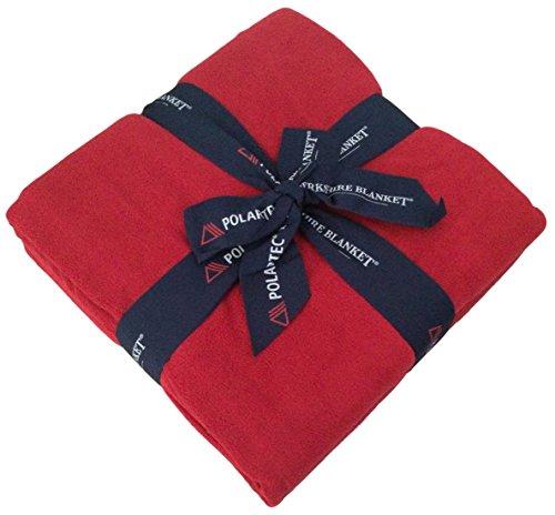 Berkshire Blanket Bold Basics-Polartec Fleece Plush Throw, R