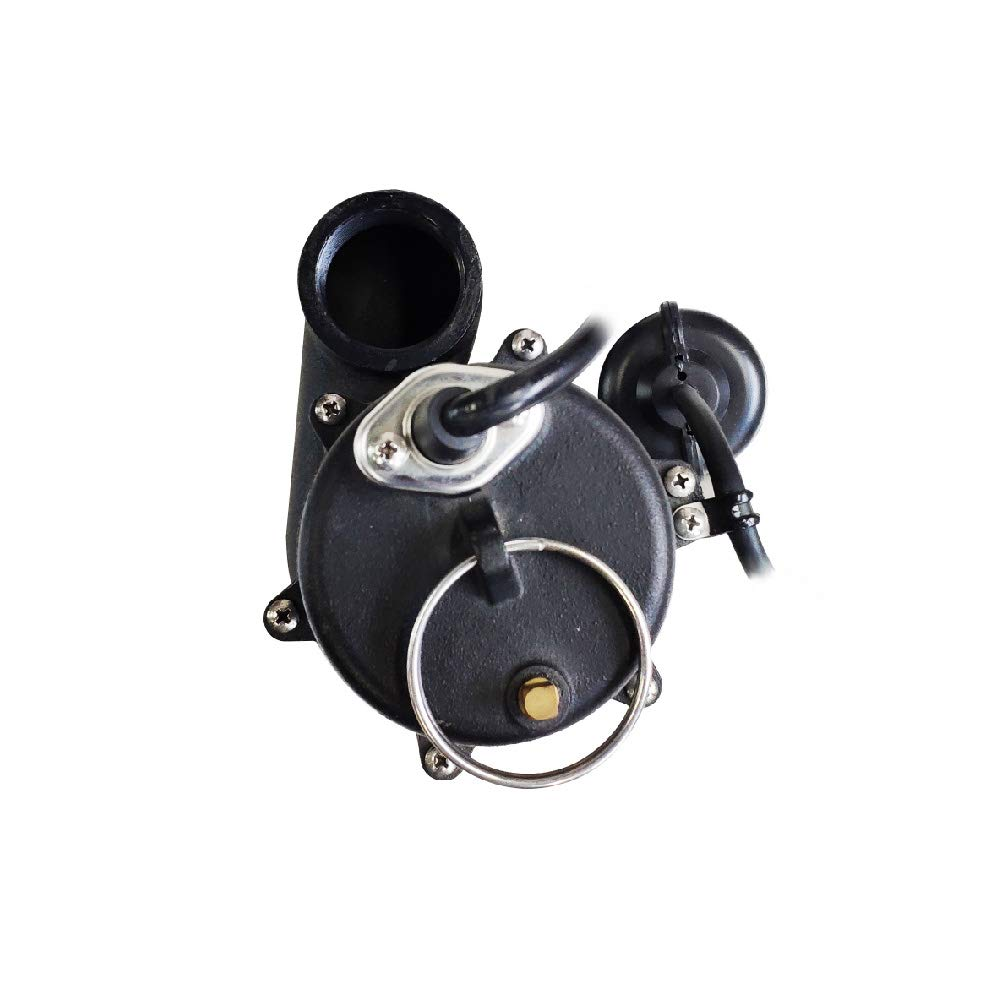 AQUAPRO 1/2 HP Cast Iron Sewage Pump with Tethered Float Switch by AQUAPRO (Image #3)