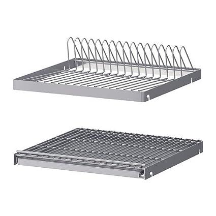 IKEA UTRUSTA - escurreplatos para armario de pared
