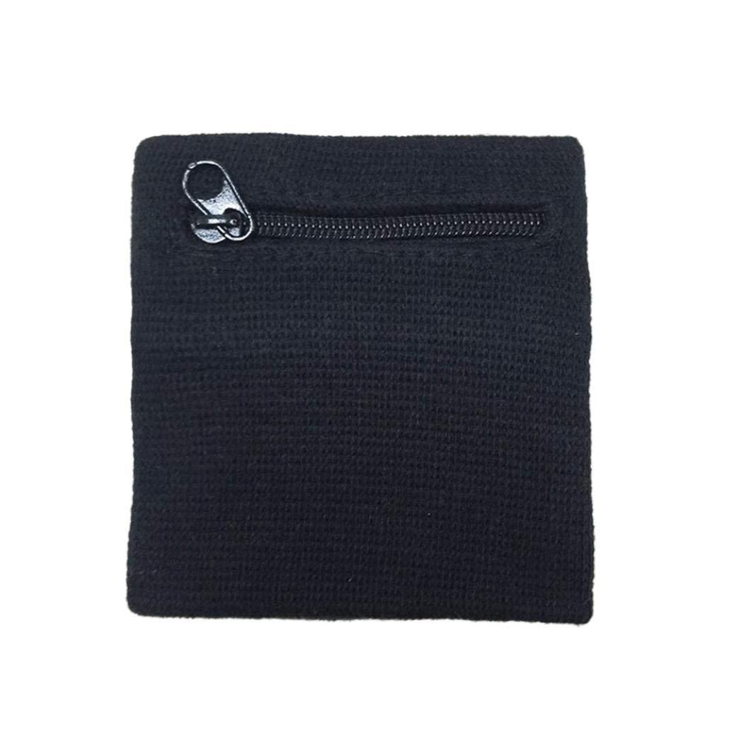 Coin Bag Wrist Support Wallet Sports Running Bike Tennis Wristband
