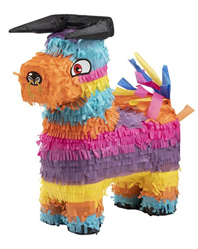 Bull Pinata - Kids Birthday Party Supplies for Mexican Themed Party, Fiesta, Cinco de Mayo, Multicolored, 11.8 x 16.54 x 4.72 Inches for $<!--$15.99-->