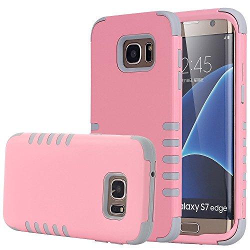 Shockproof Armor Case for Samsung Galaxy S7 Edge (Crystal/Black) - 5