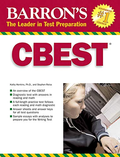 CBEST: California Basic Educational Skills Test (Barron's Test Prep CA)