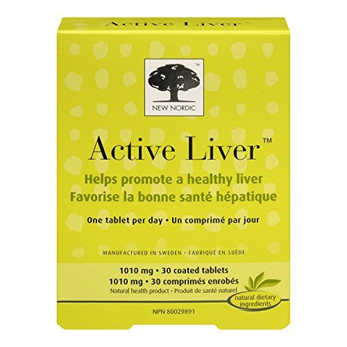 Active Liver - Promotes a Healthy Liver - 30 Tabs by New Nordic