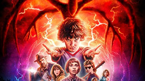 Stranger Things Season Two 2017 Eleven Poster / Print Multicolour Rolled