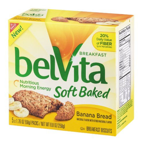Belvita Soft Baked Breakfast Biscuit Banana Bread ()