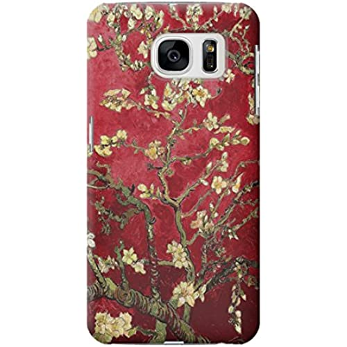 R2414 Red Blossoming Almond Tree Van Gogh Case Cover For Samsung Galaxy S7 Edge Sales